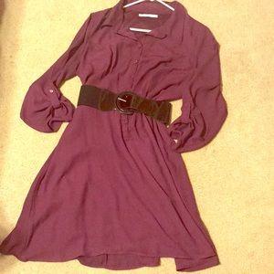 Brand new Maurices purple dress